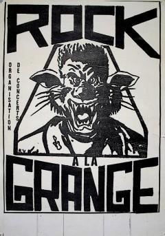 Logo de Rock à la Grange, 1987.