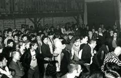 Concert de Parabellum/Noodles à la salle des fêtes de Saint Mexant, Rock à la Grange, 15 octobre 1988.