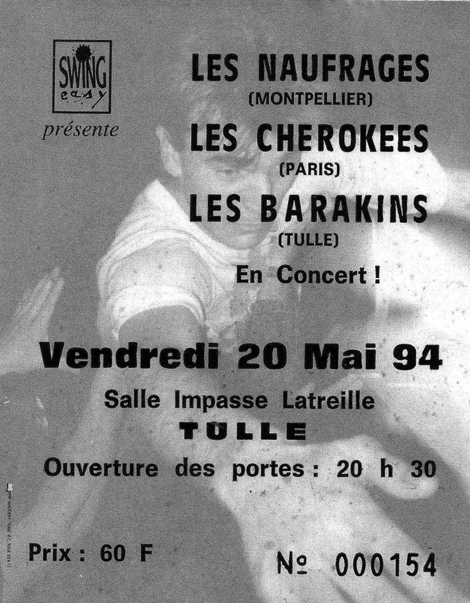Billet du concert - Archives Swing Easy
