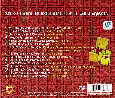 Pochette du disque Comme un seul homme - verso
