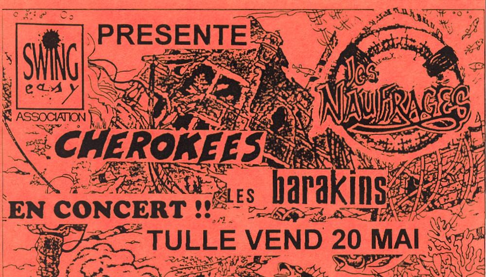 Les Naufragés + Cheerokees + Les Barakins