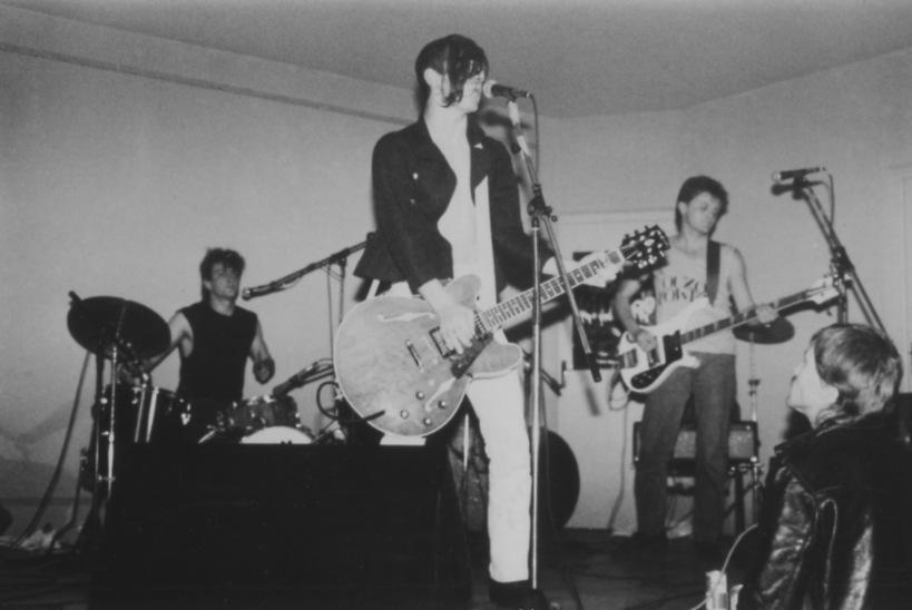 Radioactive Kids en concert à la salle de saint Mexant le 6 mai 1988 - Archive Rock à la grange