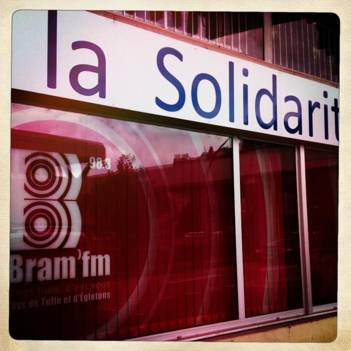 La façade de la radio, au 25 quai Gabriel Péri à Tulle.