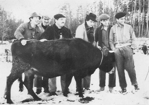 Le groupe à ses débuts - Archives Singlar Blou